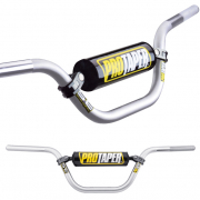 Pro Taper SE Seven Eighths Silver Trials Handlebar