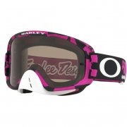 Oakley O Frame 2.0 TLD Race Shop Pink Dark Grey Goggles