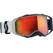 Scott Prospect Grey Dark Blue Orange Chrome Goggles