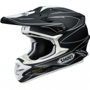 Shoei VFXW Hectic Matt Black White TC5 Helmet