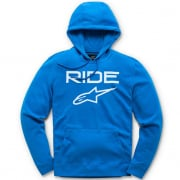 Alpinestars Ride 2.0 Bright Blue White Hoodie