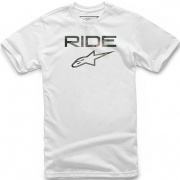 Alpinestars Ride 2.0 Camo White T Shirt