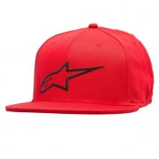 Alpinestars Ageless Flatbill Red Black Cap