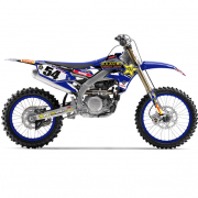 FLU Designs OTSFF Yamaha PTS Team Racing Graphics Kit