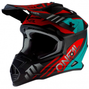 ONeal 2 Series Spyde 2.0 Black Teal Red Helmet