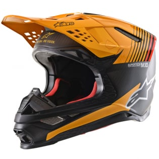 Alpinestars Supertech SM10 Dyno Black Orange Helmet