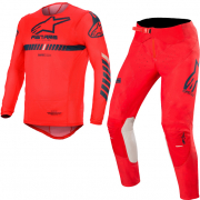 Alpinestars SuperTech Red Navy White Kit Combo