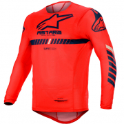 Alpinestars SuperTech Red Navy White Jersey