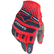 Alpinestars Techstar Bright Red Navy Gloves