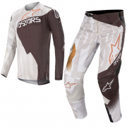 Alpinestars Techstar Factory Metal Grey Black Copper Kit Combo