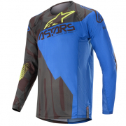 Alpinestars Techstar Factory Black Blue Yellow Fluo Jersey
