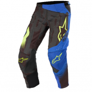 Alpinestars Techstar Factory Black Blue Yellow Fluo Pants