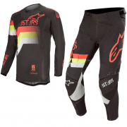Alpinestars Techstar Venom Black Red Yellow Kit Combo