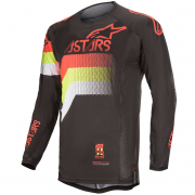 Alpinestars Techstar Venom Black Red Yellow Jersey