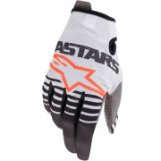 Alpinestars Radar Off White Black Gloves
