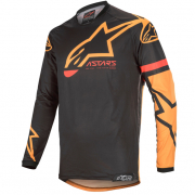 Alpinestars Racer Tech Compass Black Orange Jersey