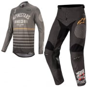 Alpinestars Racer Flagship Grey Black Kit Combo