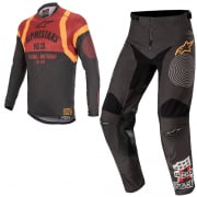 Alpinestars Racer Flagship Black Orange Kit Combo
