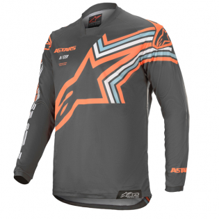 Alpinestars Racer Braap Grey Orange Fluo Jersey