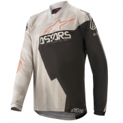 Alpinestars Kids Racer Factory Grey Black Rust Jersey
