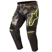 Alpinestars Kids Racer Tactical Black Grey Yellow Pants
