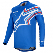 Alpinestars Kids Racer Braap Blue White Jersey