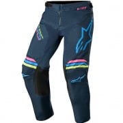Alpinestars Kids Racer Braap Navy Aqua Pink Pants