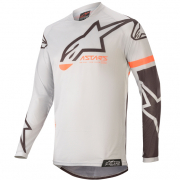 Alpinestars Kids Racer Compass Light Grey Black Jersey