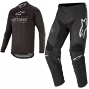 Alpinestars Kids Racer Graphite Black Grey Kit Combo
