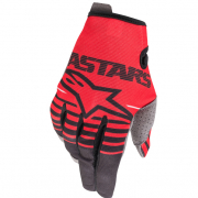 Alpinestars Kids Radar Bright Red Black Gloves