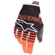 Alpinestars Kids Radar Anthracite Orange Gloves