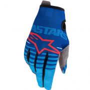 Alpinestars Kids Radar Blue Aqua Gloves