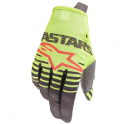 Alpinestars Kids Radar Flo Yellow Anthracite Gloves