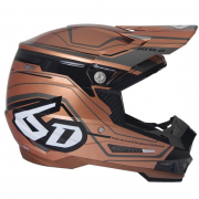 6D ATR-2 Circuit Copper Helmet