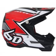 6D ATR-2 Strike Red Helmet
