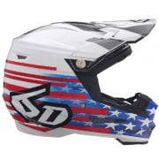 6D ATR-2 Patriot Red White Blue Helmet