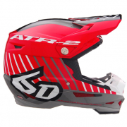 6D ATR-2 Motion Red Helmet
