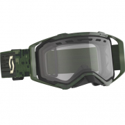 Scott Prospect Enduro Khaki Green Clear Goggles