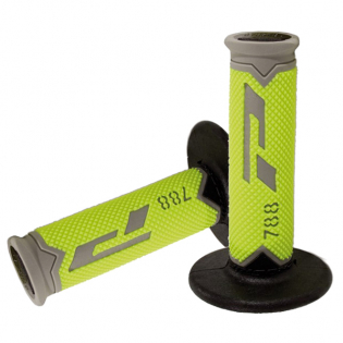 ProGrip 788 Triple Density Flo Yellow Grey Black Grips