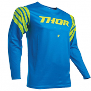 Thor Prime Pro Strut Electric Blue Acid Jersey