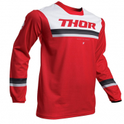 Thor Pulse Pinner Red White Jersey