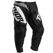 Thor Kids Sector Blade Black White Pants