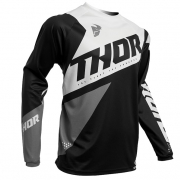 Thor Kids Sector Blade Black White Jersey