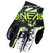 ONeal Matrix Impact Black Neon Yellow Motocross Gloves