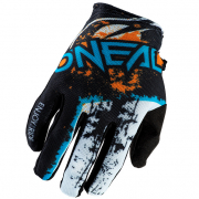 ONeal Matrix Impact Black Orange Motocross Gloves