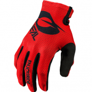 ONeal Matrix Stacked Red Motocross Gloves