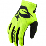 ONeal Matrix Stacked Yellow Motocross Gloves
