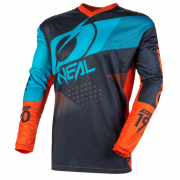 ONeal Element Factor Grey Orange Blue Jersey
