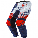 ONeal Element Impact Blue Red Pants