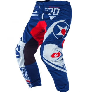 ONeal Element Warhawk Blue Red Pants
